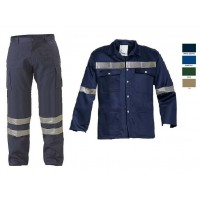 Work suit LEGA with reflective tape Work Suit (Pant and jacket)