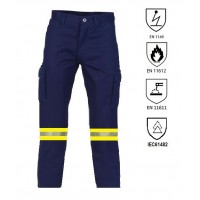 Fire retardant and antistatic work pant