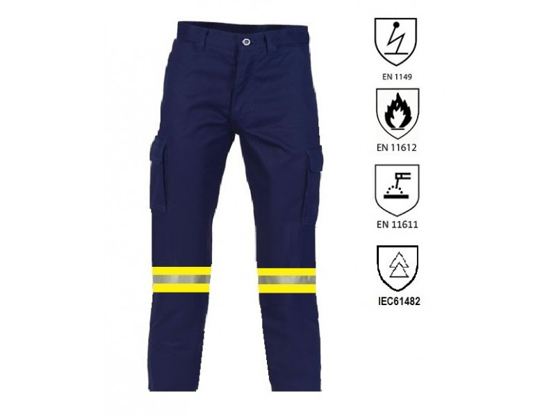 Fire retardant and antistatic work pant Fire retardant & antistatic workwear