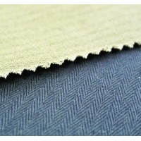 FABRIC HERRINGBONE F/B COTTON 100% 300gr/m2 Cotton fabrics for workwear