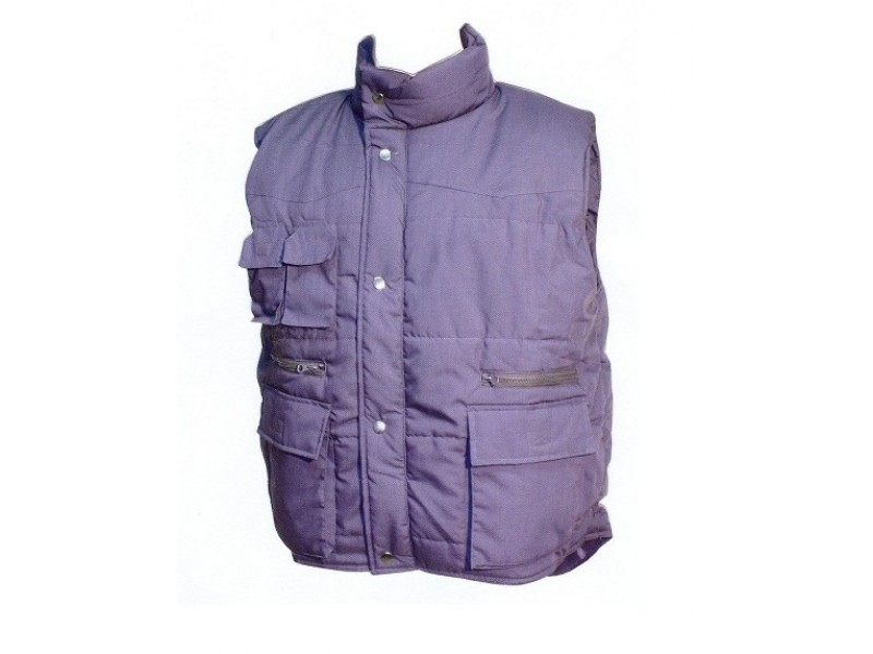Body warmer without sleeves Work body warmer-Heavy jacket-Parka