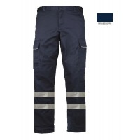 Work pant ΕΚΑΒ with reflective tape Work trousers