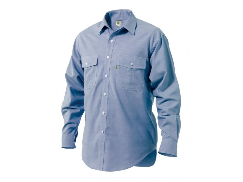 Work shirt Cotton 100% OXFORD long sleeves