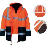 Jacket υψηλης ευκρινειας EN471, φoρμες εργασiας