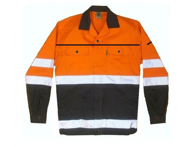High Visibility Work Jacket EN471
