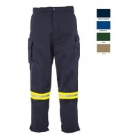Work pant LEGA with reflective tape Work trousers