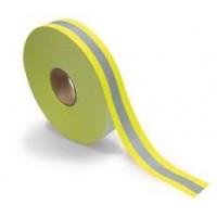 Αντανακλαστική ταινία ΕΝ471 δύο χρωμάτων 65% Polyester-35% βαμβάκι