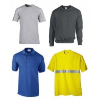 Μπλούζες εργασίας, μακό, πόλο, φούτερ